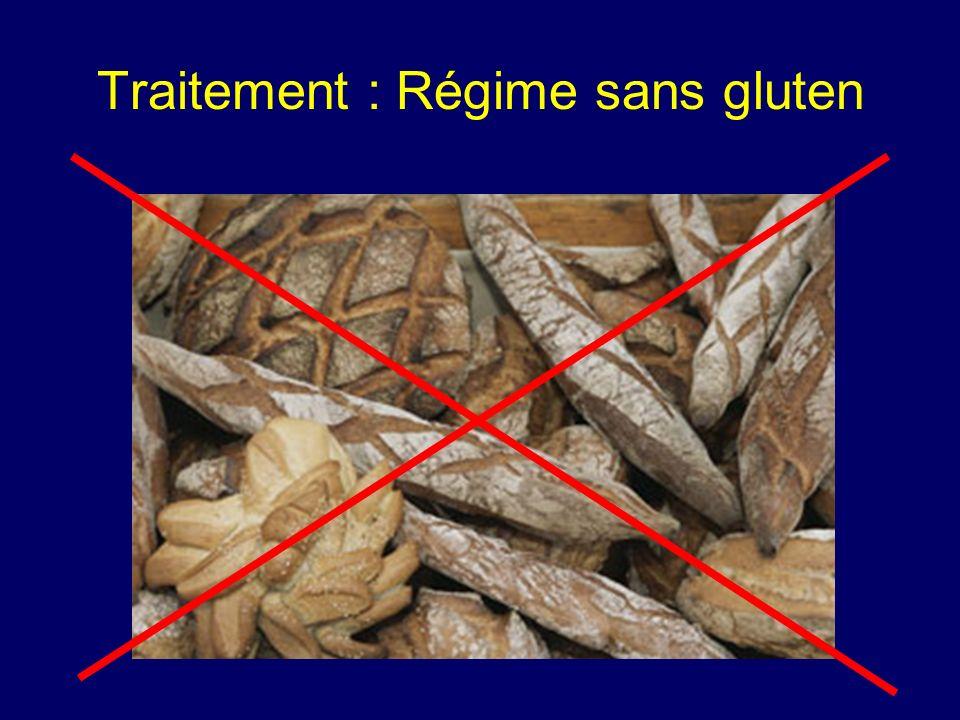 Traitement : Régime sans gluten