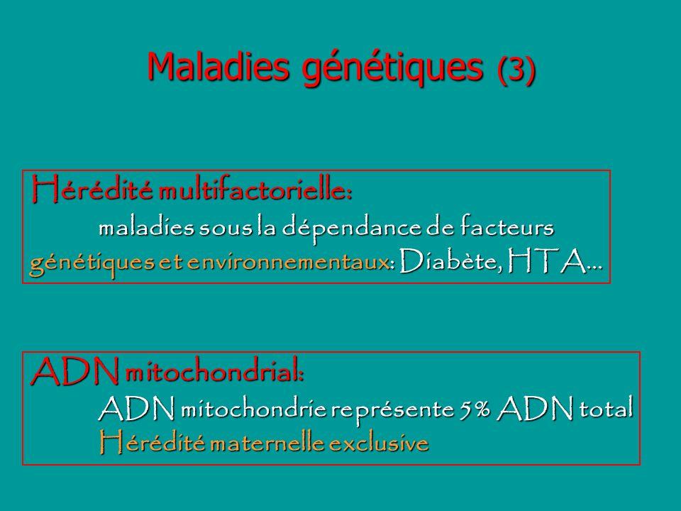 Maladies génétiques (3)