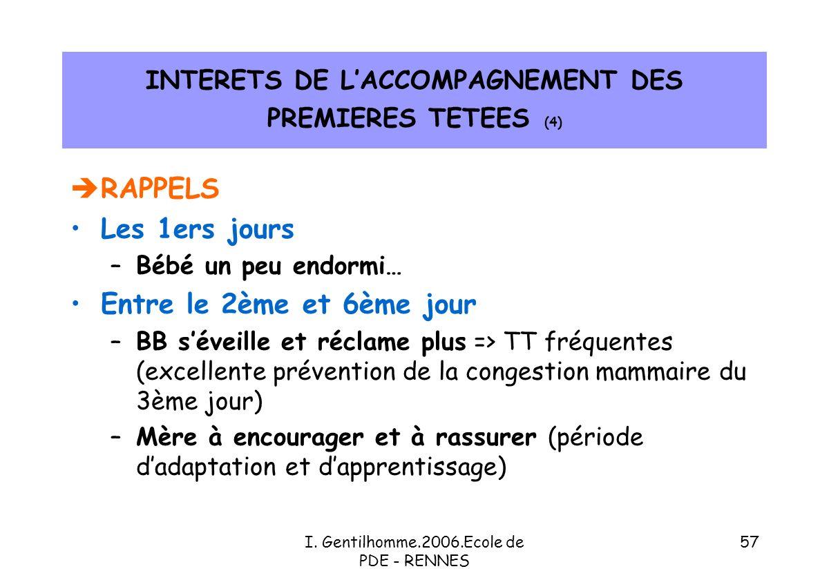 INTERETS DE L'ACCOMPAGNEMENT DES PREMIERES TETEES (4)