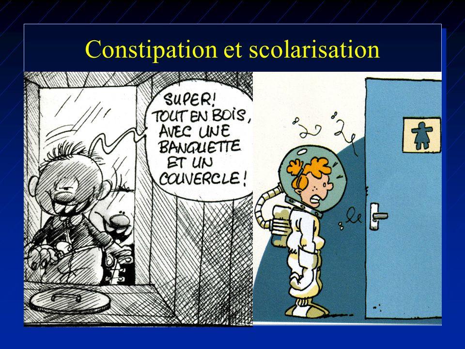 Constipation et scolarisation