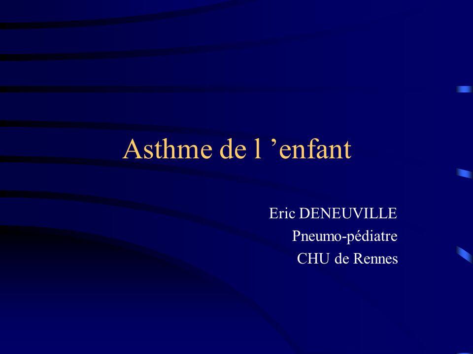 Eric DENEUVILLE Pneumo-pédiatre CHU de Rennes