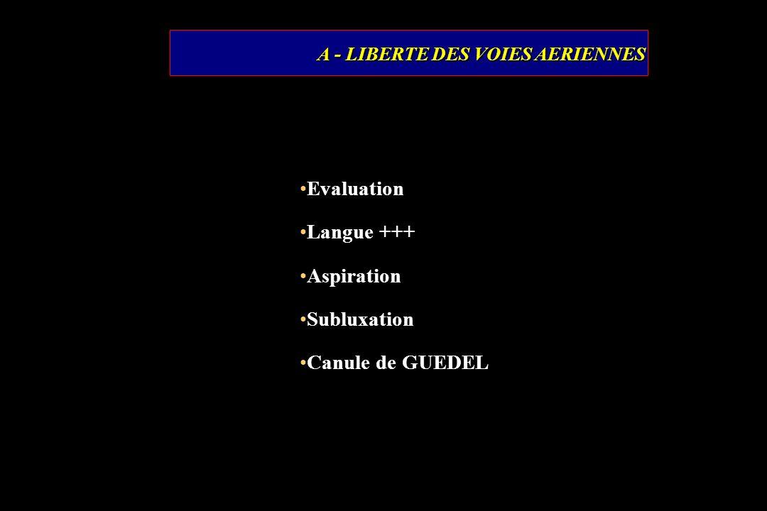 A - LIBERTE DES VOIES AERIENNES