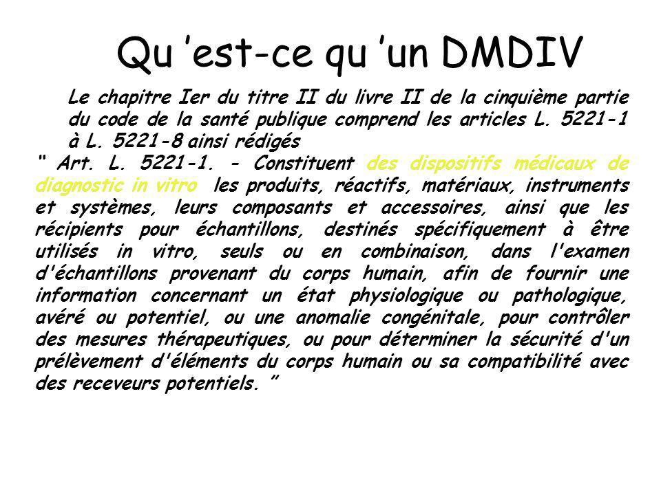 Qu 'est-ce qu 'un DMDIV