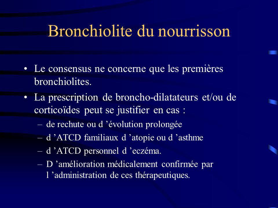 Bronchiolite du nourrisson