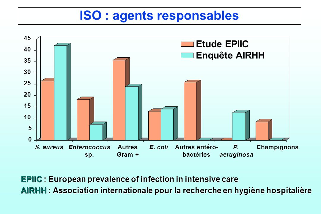 ISO : agents responsables