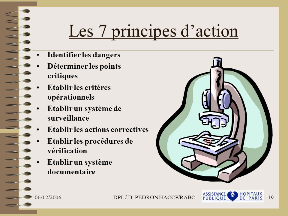 Les 7 principes d'action