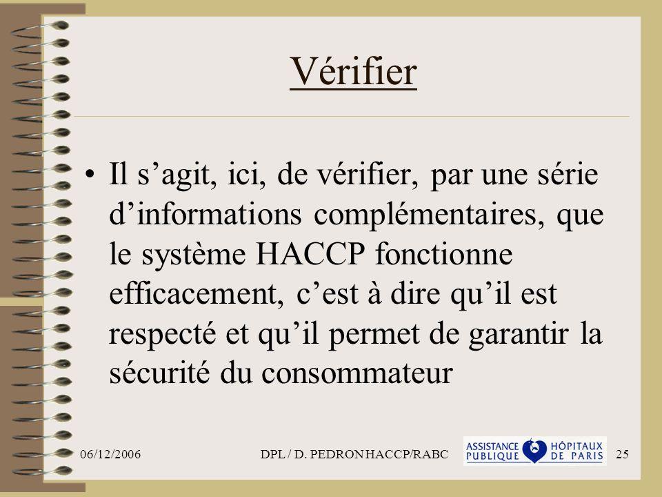 DPL / D. PEDRON HACCP/RABC