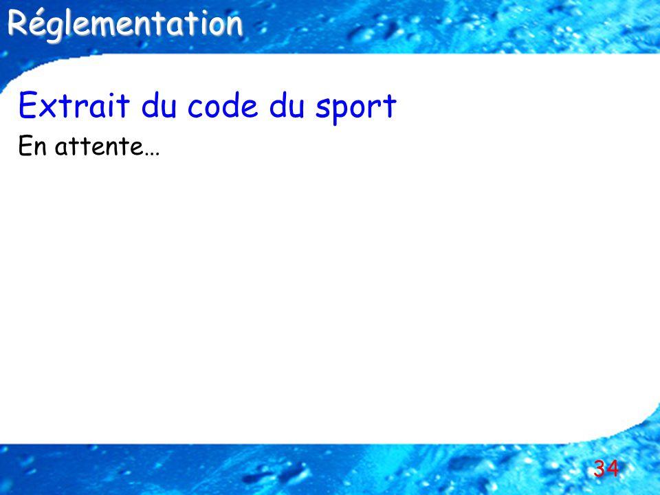 Extrait du code du sport