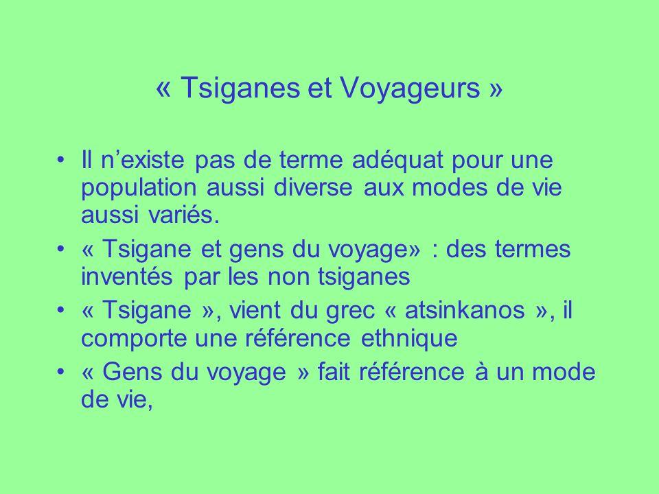 « Tsiganes et Voyageurs »