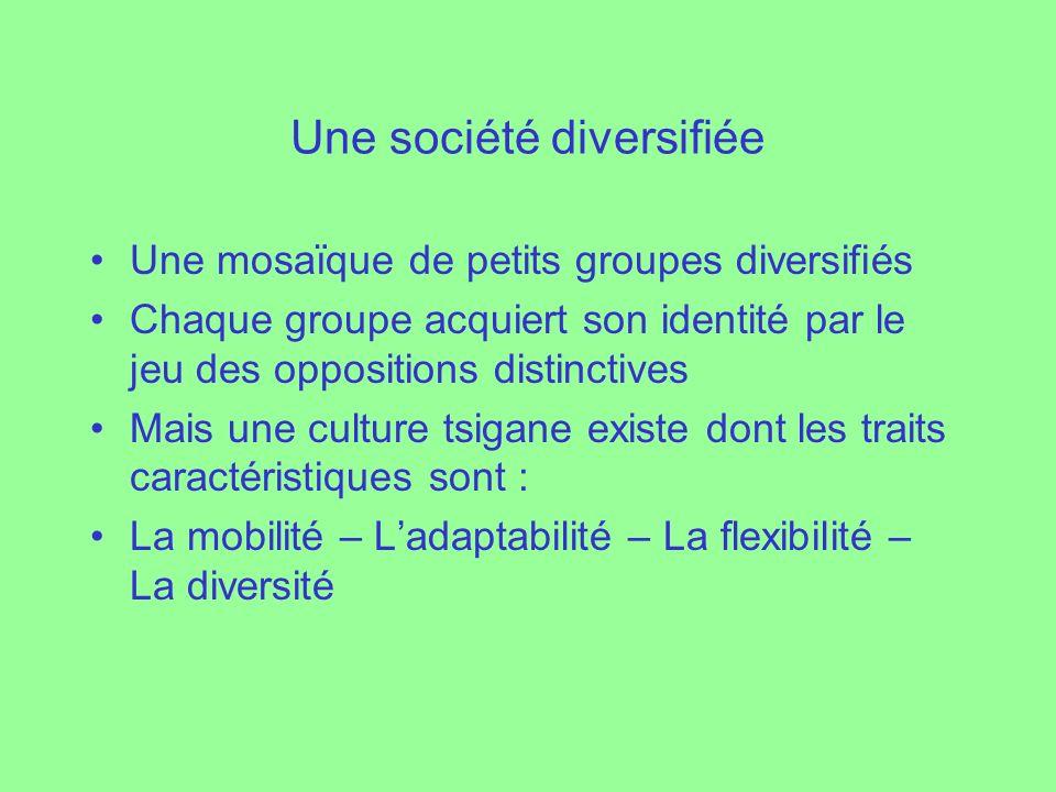 Une société diversifiée