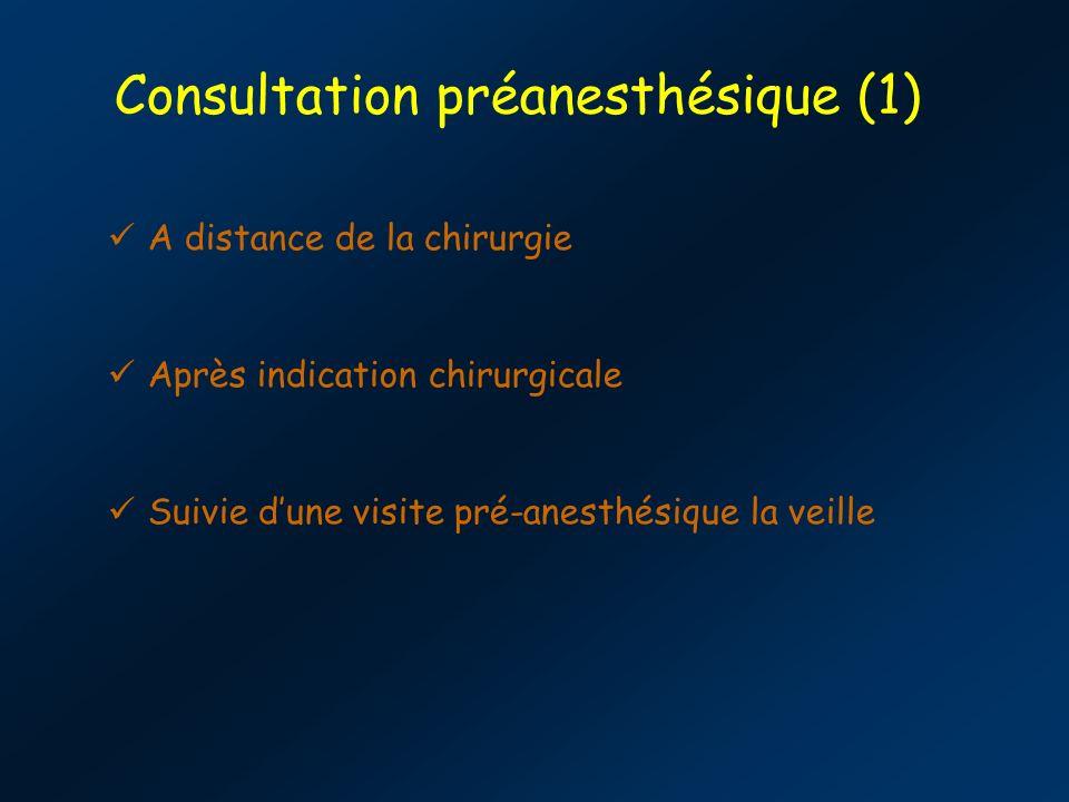 Consultation préanesthésique (1)