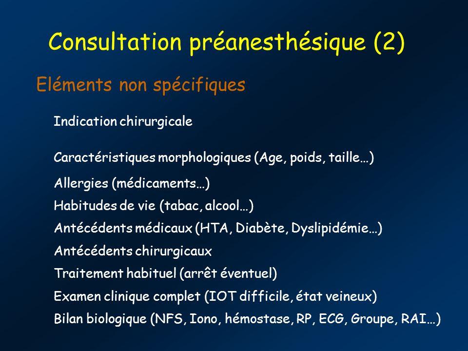Consultation préanesthésique (2)