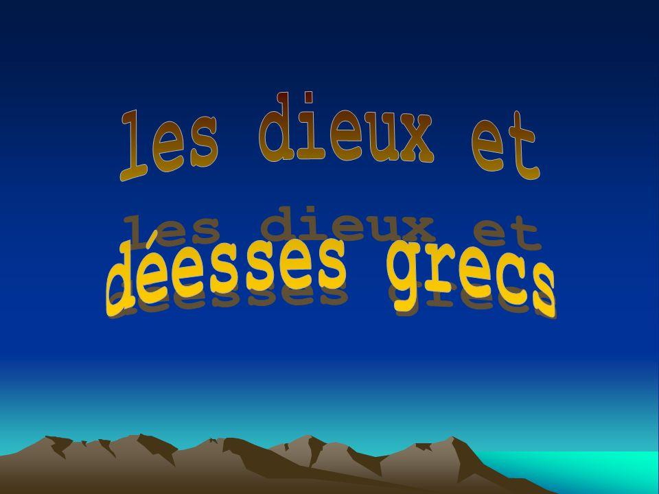 les dieux et déesses grecs