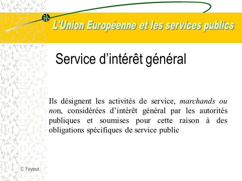 Service d'intérêt général