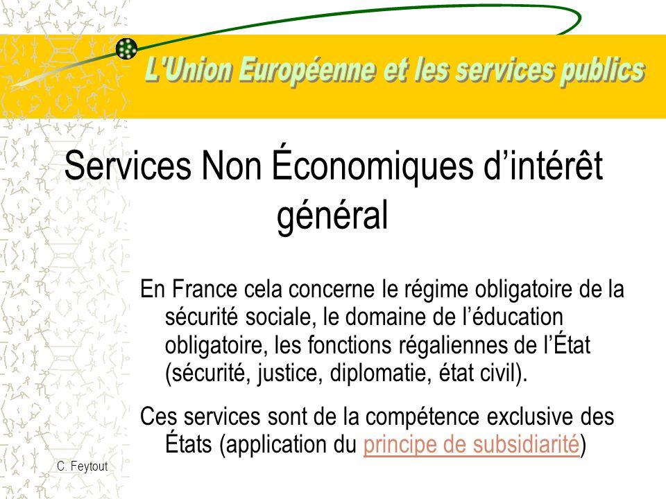 Services Non Économiques d'intérêt général