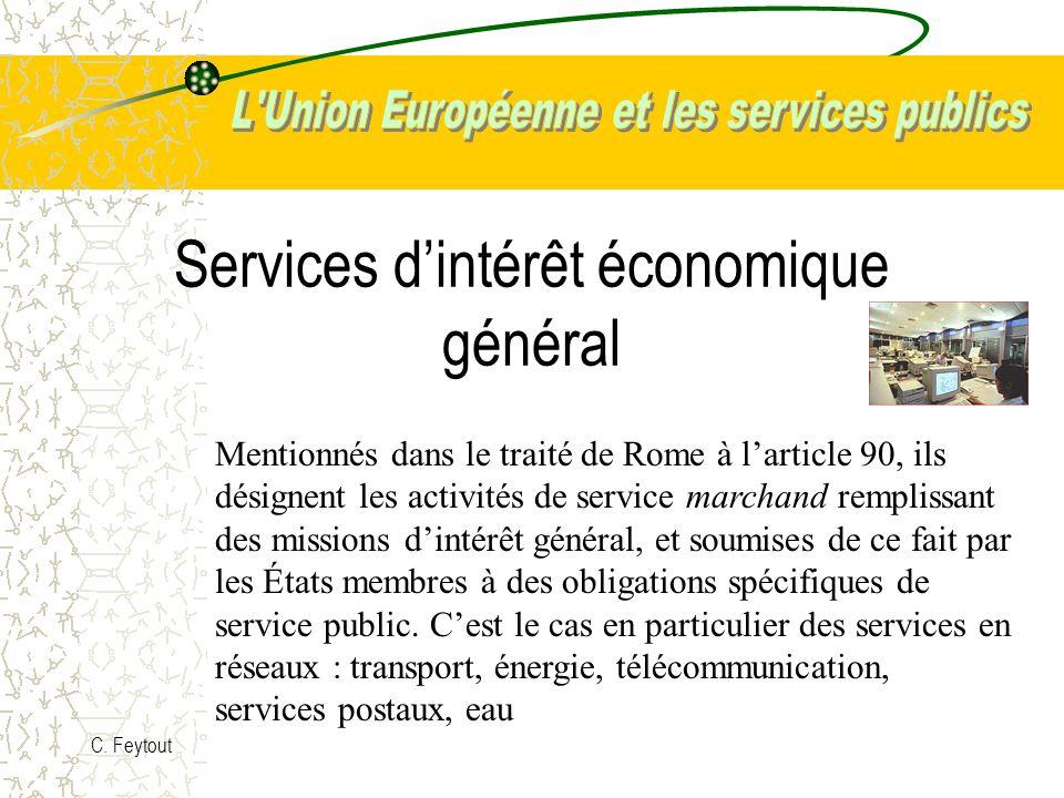 Services d'intérêt économique général