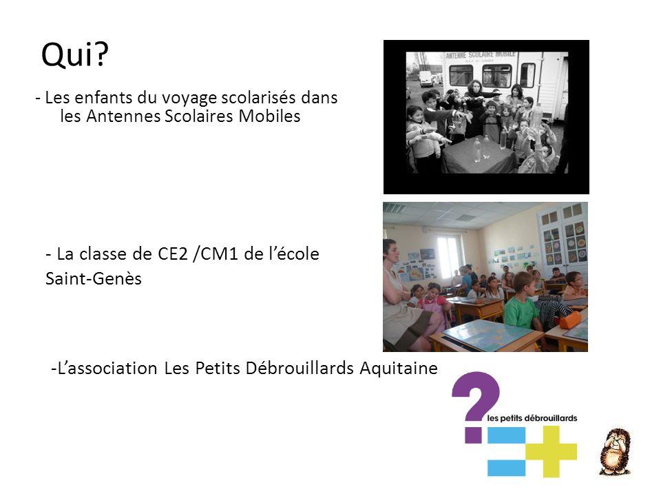 Qui - La classe de CE2 /CM1 de l'école Saint-Genès
