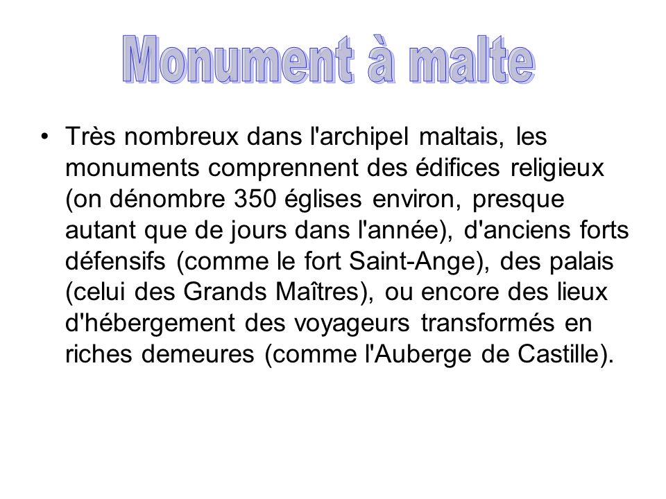 Monument à malte