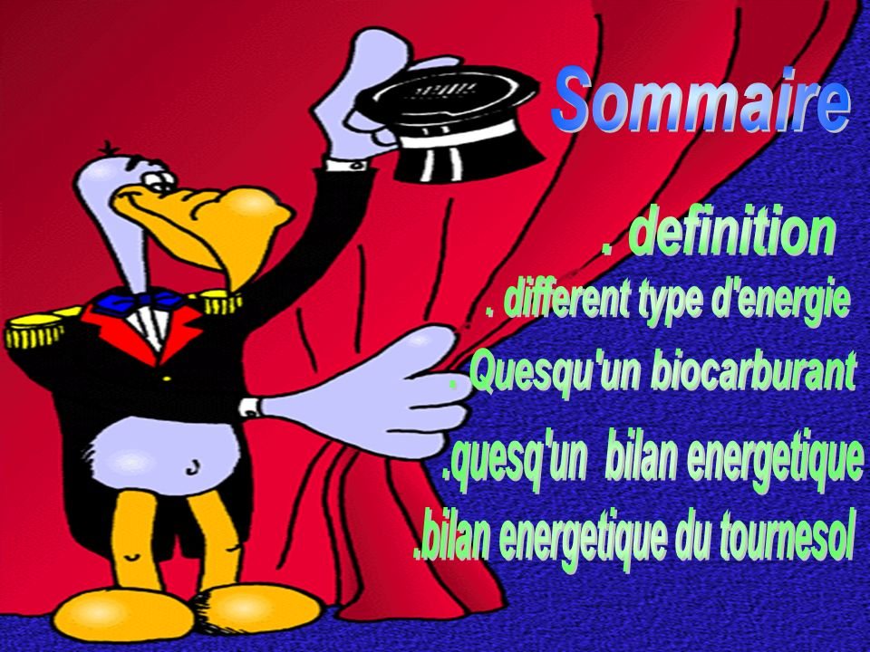 . different type d energie