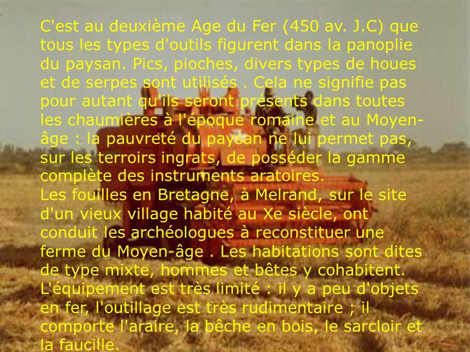 C est au deuxième Age du Fer (450 av. J