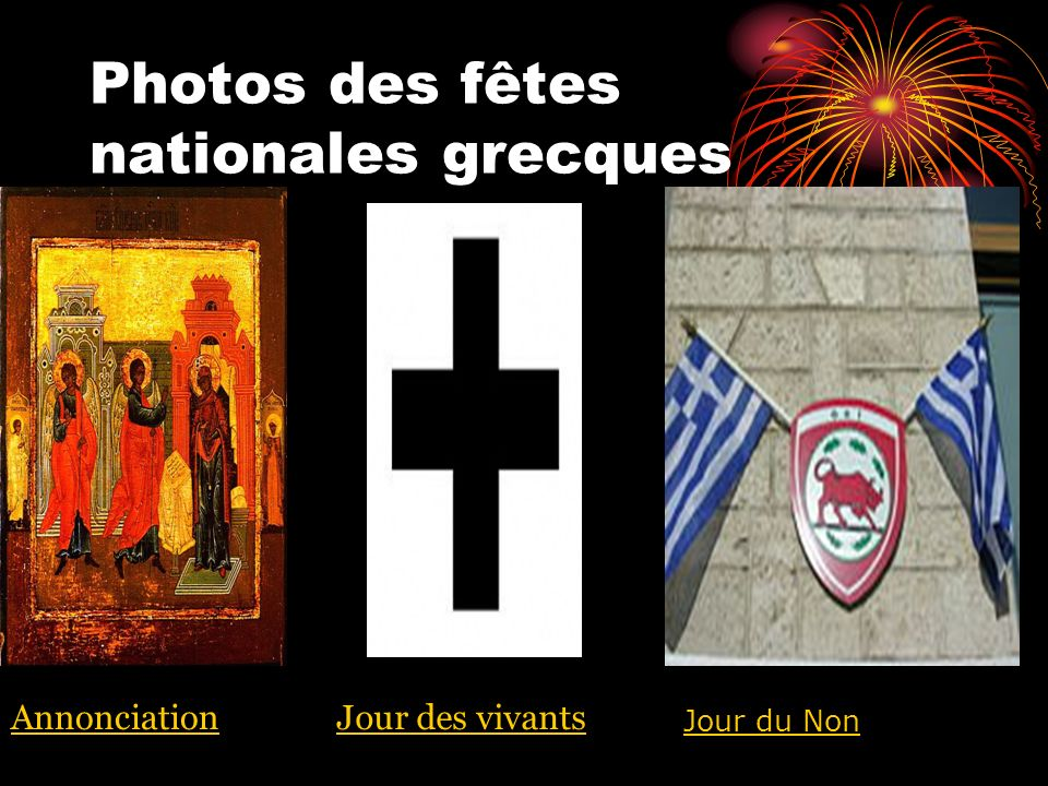Photos des fêtes nationales grecques