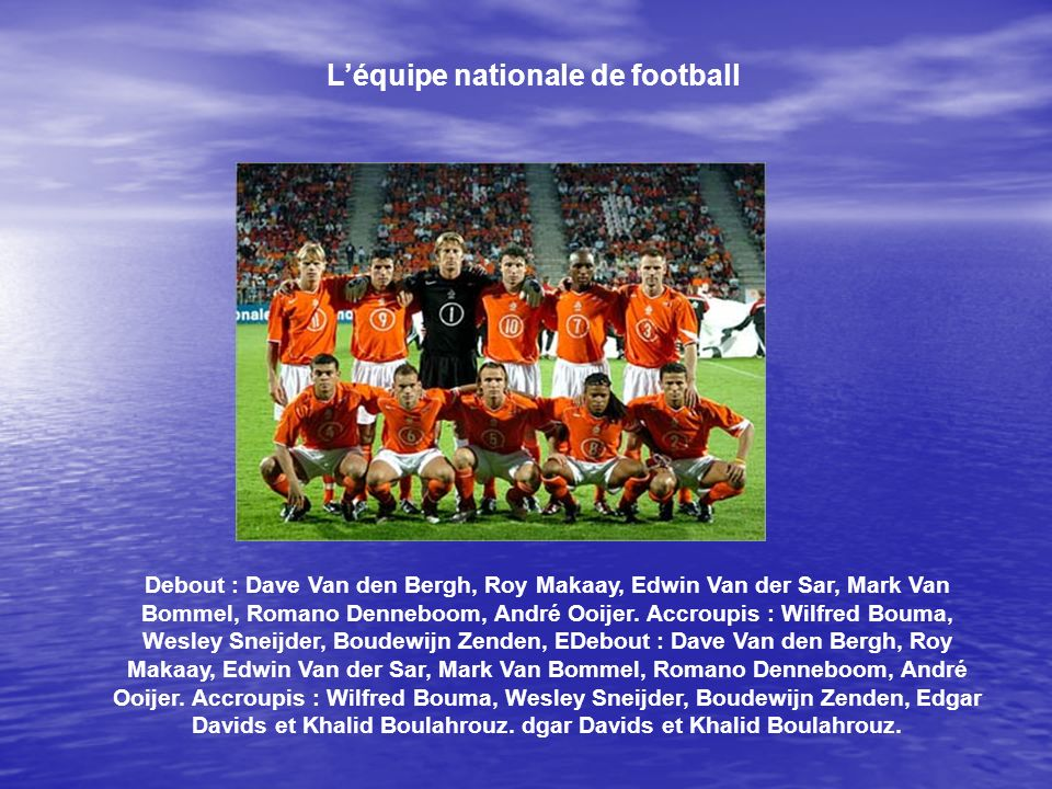 L'équipe nationale de football