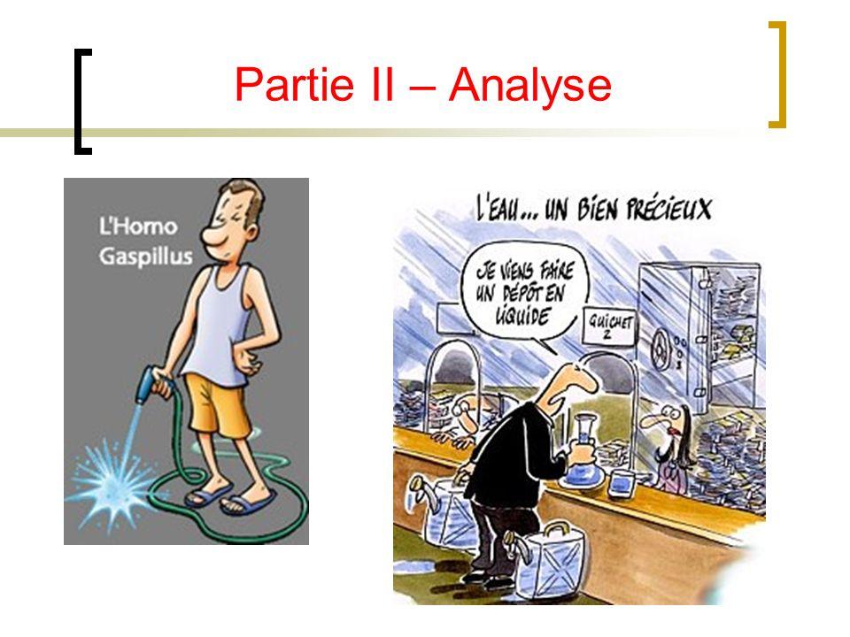 Partie II – Analyse