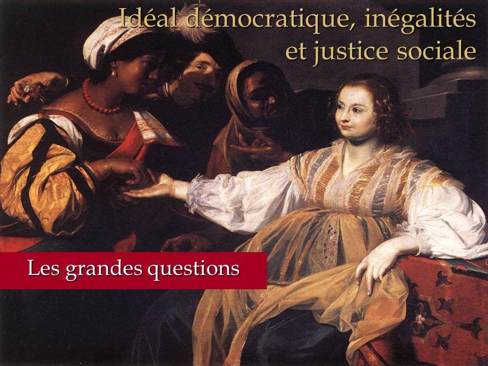 Idéal démocratique, inégalités et justice sociale