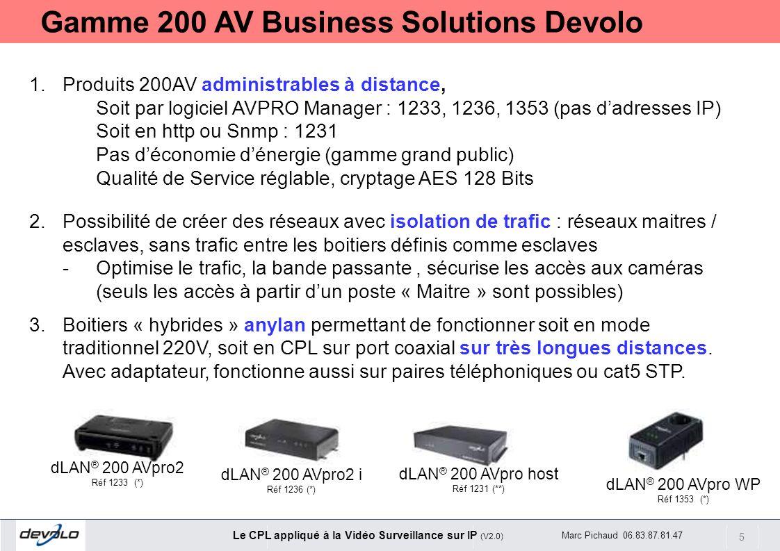 Gamme 200 AV Business Solutions Devolo