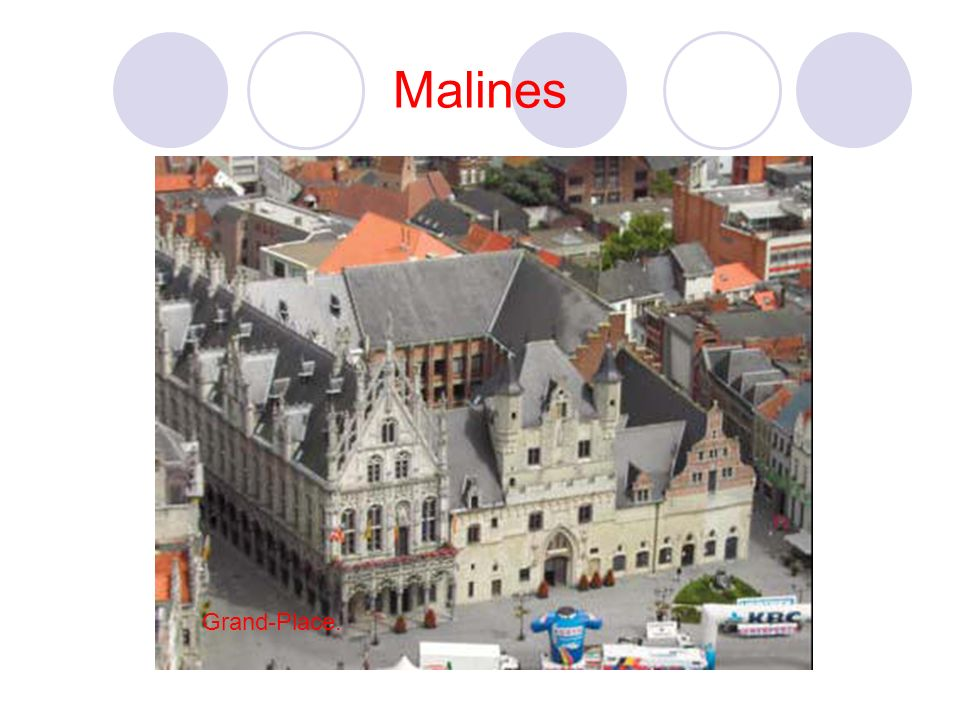Malines Grand-Place.