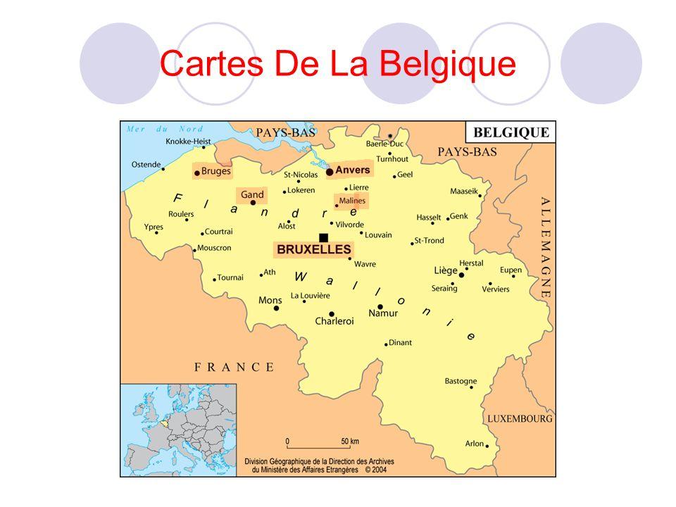 Cartes De La Belgique