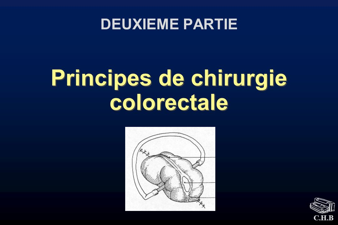 Principes de chirurgie colorectale