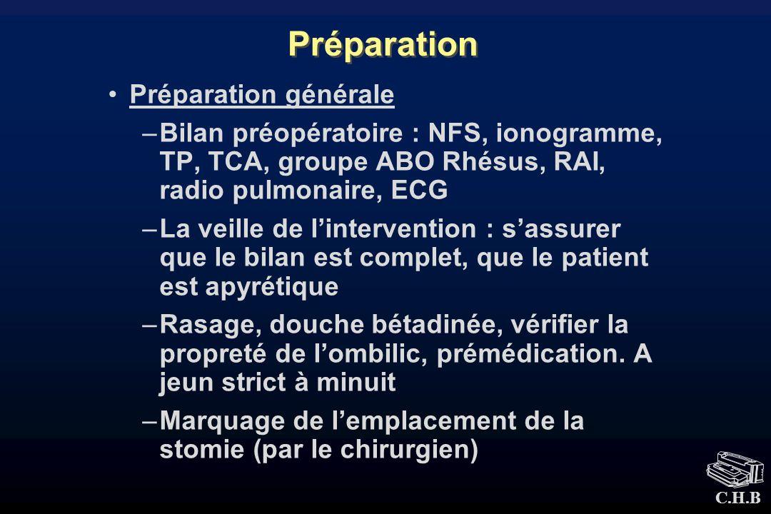 Préparation Préparation générale