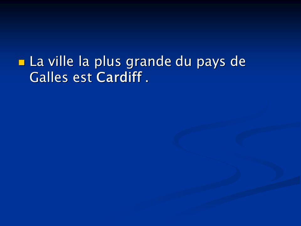 La ville la plus grande du pays de Galles est Cardiff .