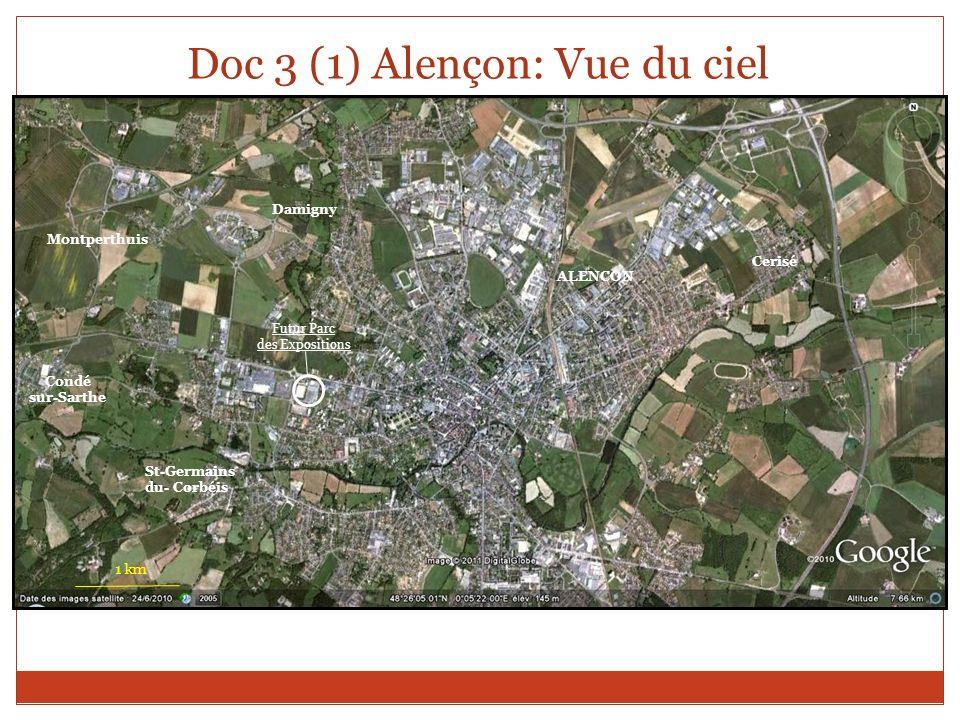 Doc 3 (1) Alençon: Vue du ciel
