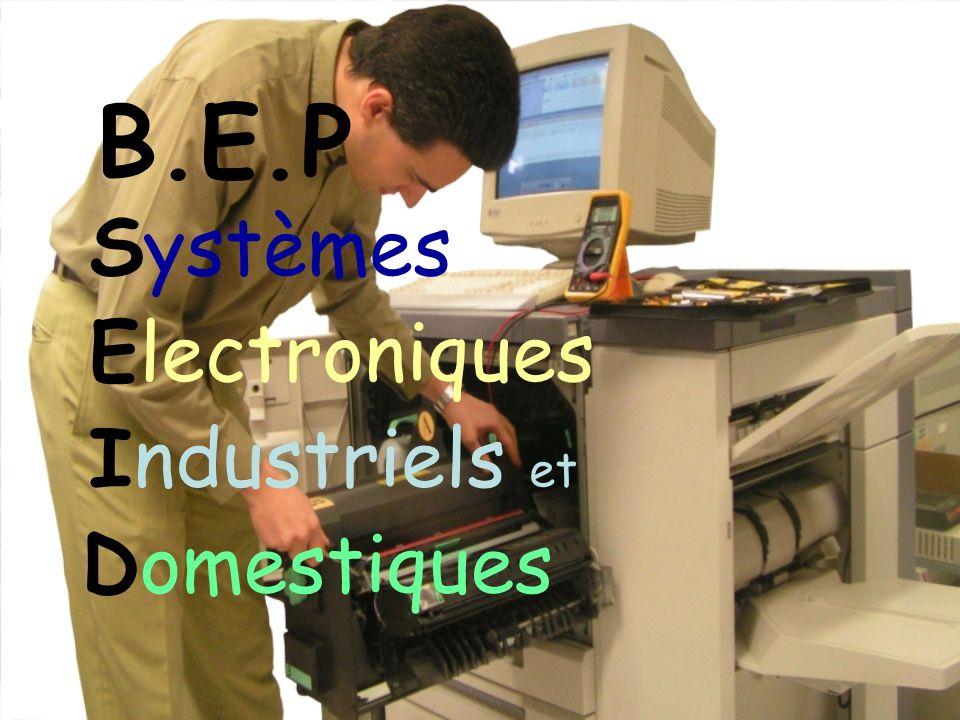 B.E.P Systèmes Electroniques Industriels et Domestiques