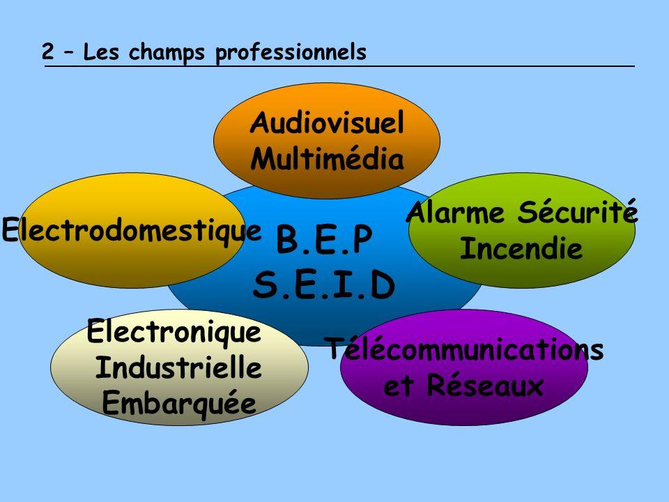 B.E.P S.E.I.D Audiovisuel Multimédia Alarme Sécurité Electrodomestique