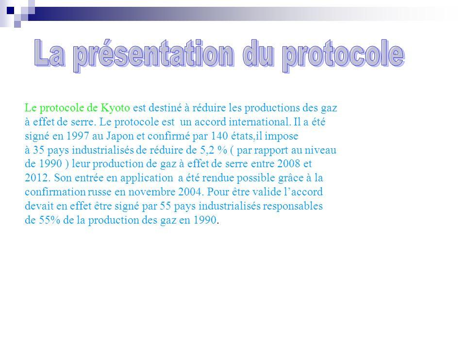 La présentation du protocole