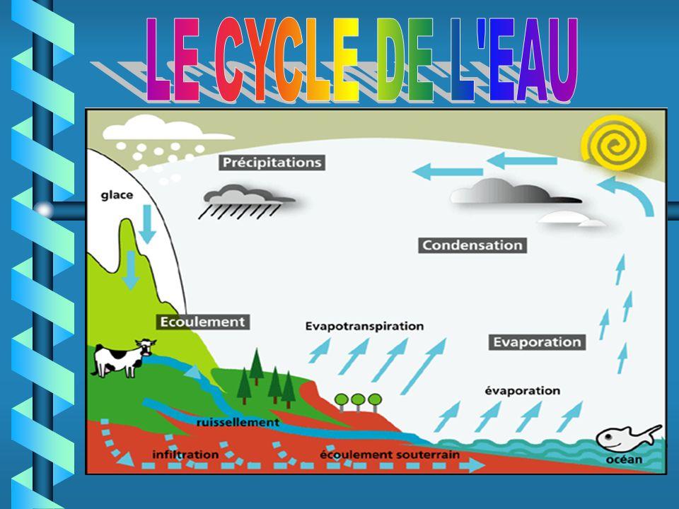 LE CYCLE DE L EAU