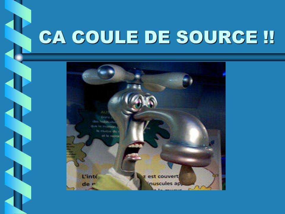 CA COULE DE SOURCE !!