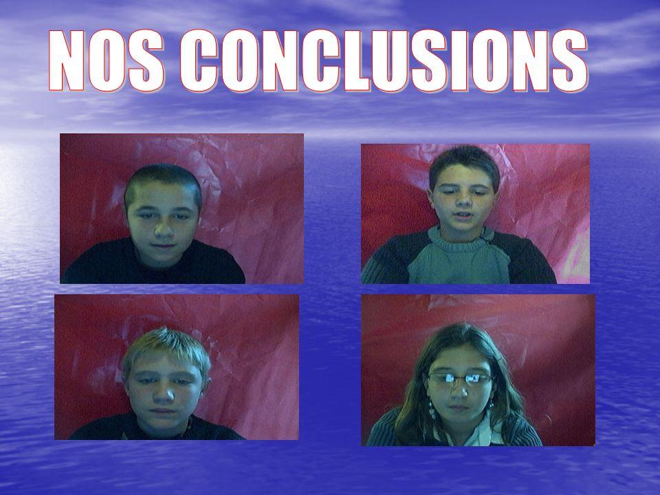 NOS CONCLUSIONS