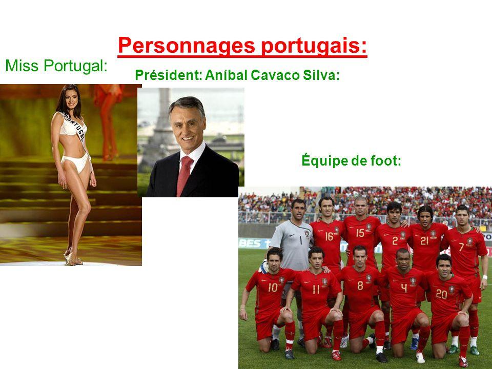 Personnages portugais: