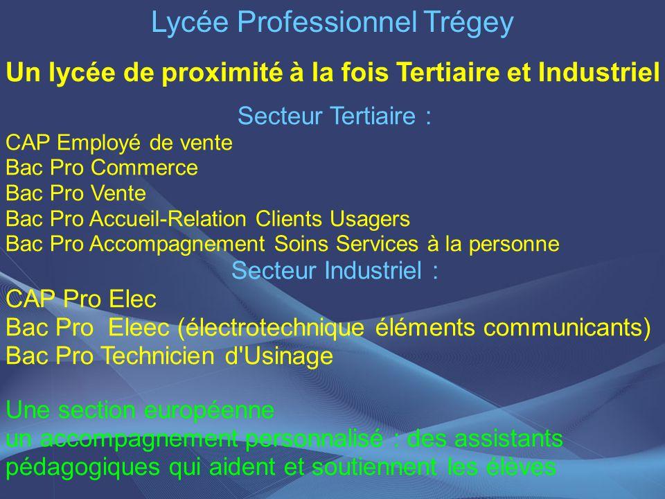 Lycée Professionnel Trégey