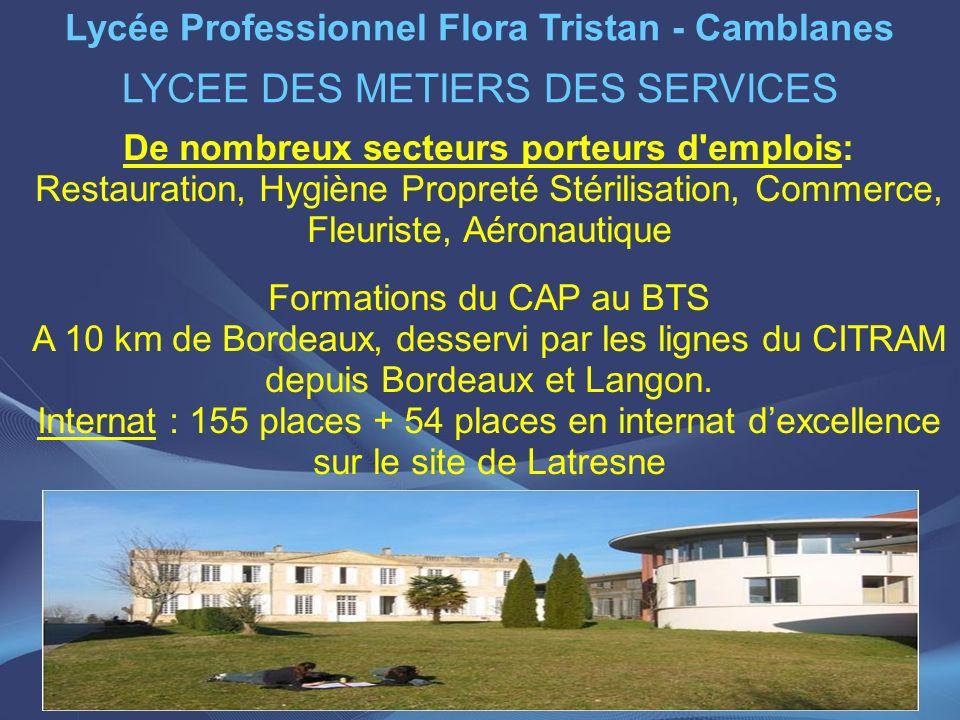 Lycée Professionnel Flora Tristan - Camblanes