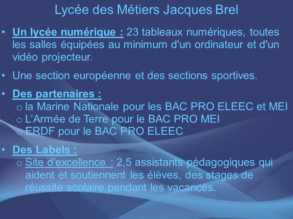 Lycée des Métiers Jacques Brel