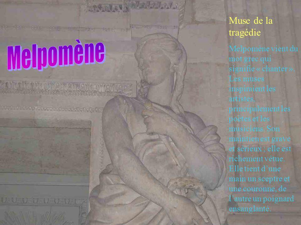 Melpomène Muse de la tragédie