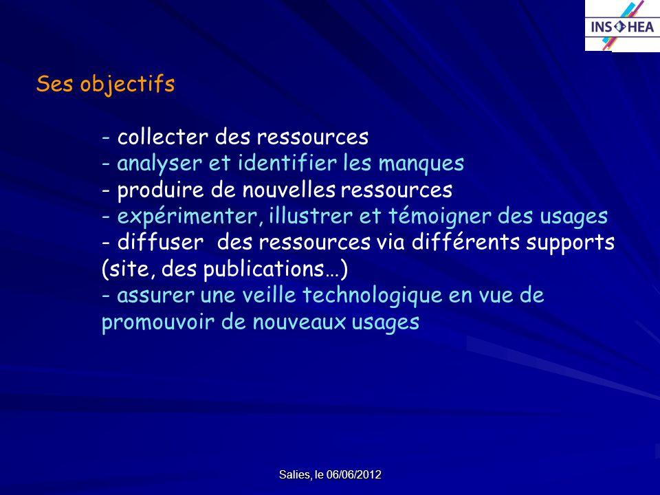 - collecter des ressources - analyser et identifier les manques