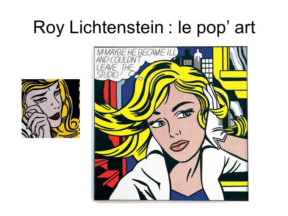 Roy Lichtenstein : le pop' art