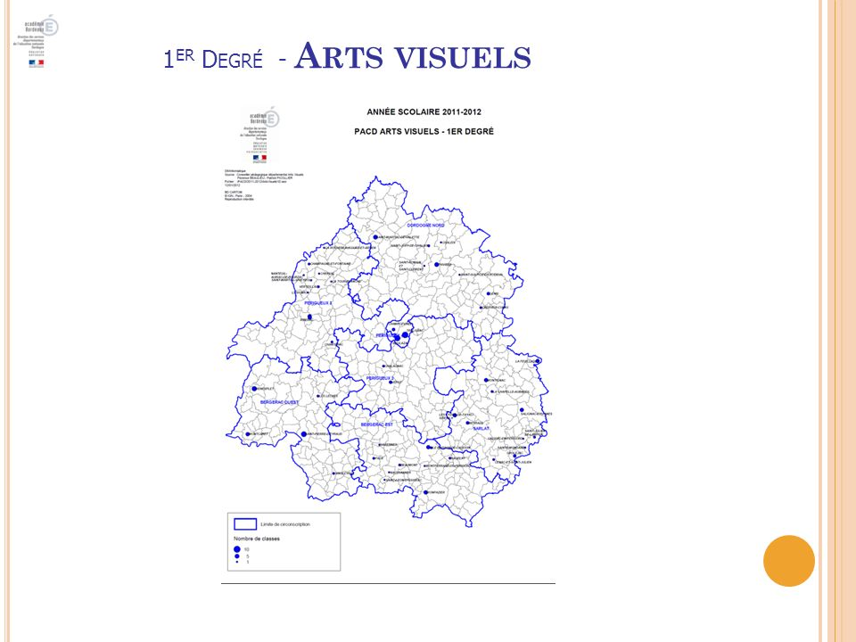 1er Degré - Arts visuels
