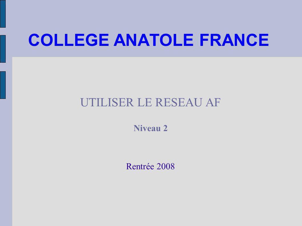 COLLEGE ANATOLE FRANCE